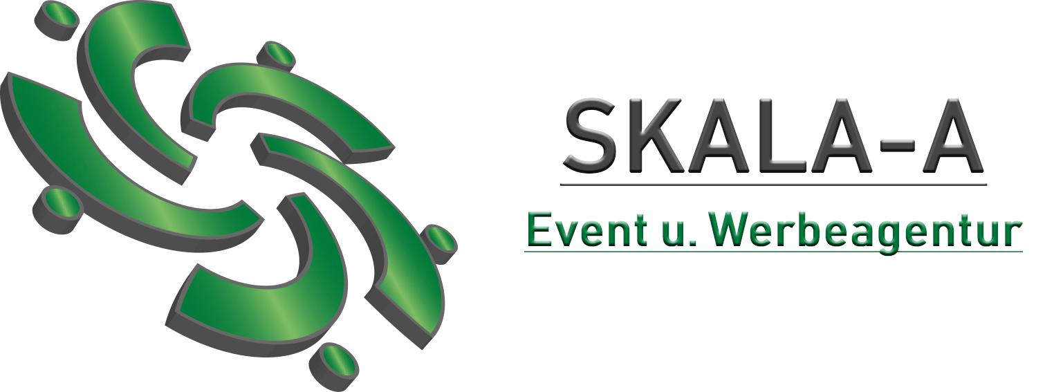Skala-a logo für Firma event und werbeagentur